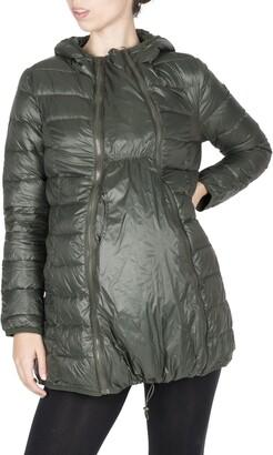 Modern Eternity Lightweight Down 3-in-1 Maternity/Nursing Jacket