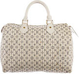 Louis Vuitton Mini Lin Croisette Speedy 30