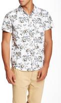 Seven7 Slim Fit Floral Print Short Sleeve Shirt