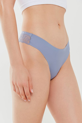 Out From Under Nina Laser-Cut Lace-Back Cheeky Hipster