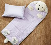 Pottery Barn Kids Shaggy Dog Sleeping Bag, Lavender