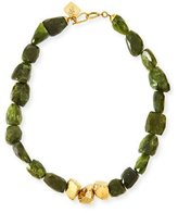 Ashley Pittman Tumba Rocky Peridot Necklace