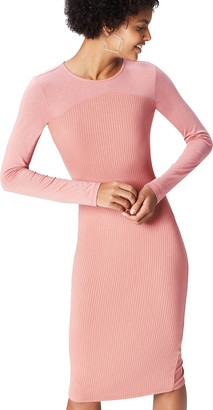 Find. Amazon Brand Women's Jersey Ribbed Dress