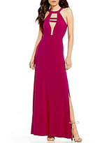 GB Social Illusion Mesh Inset Gown