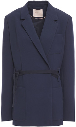 Roksanda Tie-front Crepe Blazer
