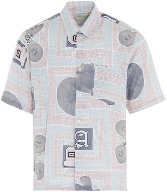 Aries Scarf Print Hawaiian Shirt