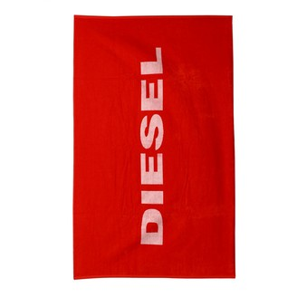 Diesel Bath Towel With Two-tone Effect