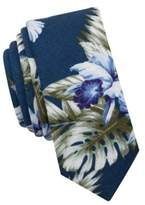 Original Penguin Caswell Floral Cotton Tie