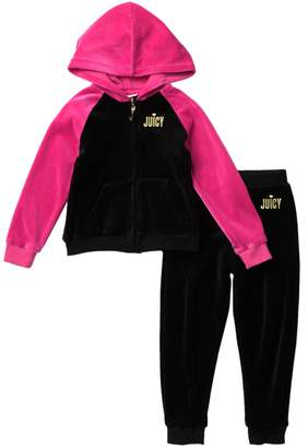 Juicy Couture Velour 2-Piece Set (Toddler Girls)
