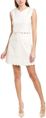 Rebecca Taylor Scallop Shift Dress