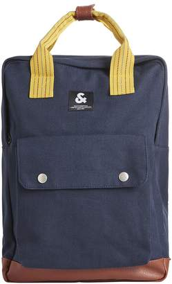 Jack and Jones Jacsquare Canvas Backpack