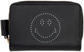 Anya Hindmarch Black Compact Wink Wallet