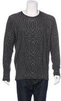 Roberto Cavalli Wool Print Sweater w/ Tags