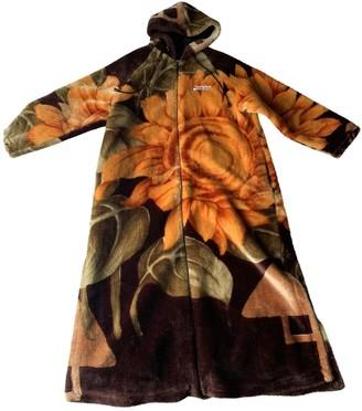 Marine Serre Multicolour Faux fur Coats