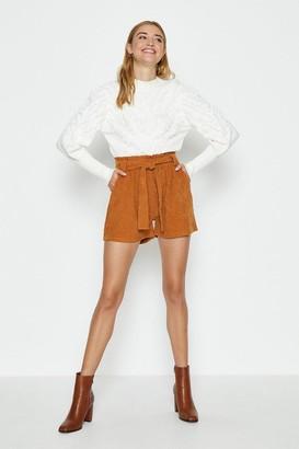 Coast Cord Paper Bag Shorts