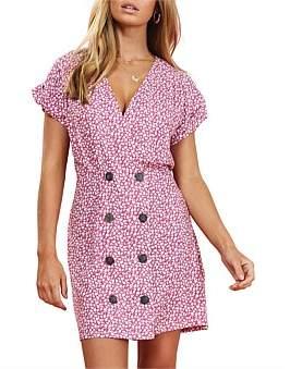 MinkPink Dusty Rose Mini Dress