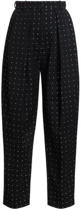 Magda Butrym Shaldon Swarovski Crystal Studded Pants