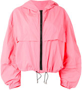 MSGM hooded jacket - women - Polyamide - 40