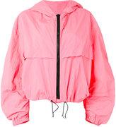 MSGM hooded jacket - women - Polyamide - 42