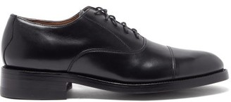Yuketen 1940 Leather Oxford Shoes - Mens - Black