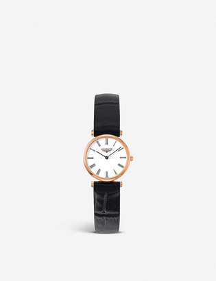 Longines L4.209.1.11.2 Prima Luna stainless steel bracelet watch