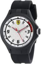 Ferrari Men's 0830001 Pit Crew Analog Display Quartz Black Watch