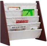 Levels of Discovery Cherry, Tan MDF, Wood Sling Bookshelf