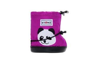 Stonz Toddler Booties Panda Magenta Large