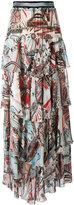 Just Cavalli printed maxi skirt - women - Viscose - 38