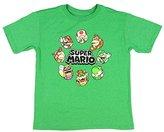 Hybrid Nintendo Super Mario Circle Of Trust Boys' Character T-Shirt Licensed (Small)