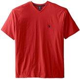 U.S. Polo Assn. Men's Big & Tall V-Neck Short-Sleeve T-Shirt