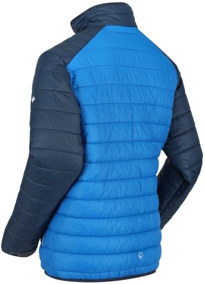 Regatta Freezeway Padded Jacket - Blue/Navy
