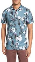 Ted Baker Scrufft Trim Fit Floral Print Polo