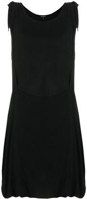 Ann Demeulemeester asymmetric draped dress