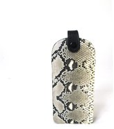 WonderMolly Genuine Snake Skin Python Leather Cellphone Holder