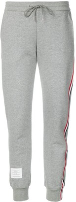 Thom Browne Classic Loopback Stripe Sweatpants