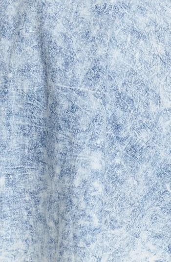 Mimichica Mimi Chica Acid Wash Chambray Skirt (Juniors)