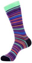 Jared Lang Spotted Stripe Crew Socks