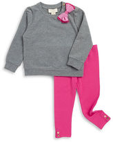 Kate Spade Baby Girls Dorothy Bow Pullover and Leggings Set