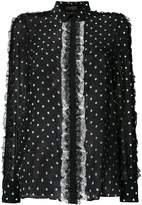 Giambattista Valli polka dot blouse