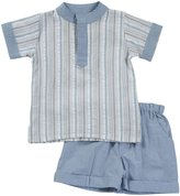 Masala Baby 2 Piece Tabla Tunic Set (Baby) - Multi Check-18-24 Months