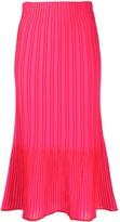 M Missoni ribbed knit midi skirt