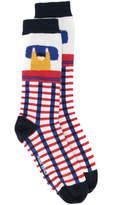 Henrik Vibskov embroidered socks