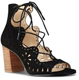 Nine West Women's Gweniah Ghillie Lace Gladiator Sandal