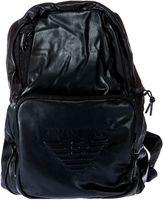 Armani Jeans Embossed Logo Backpack