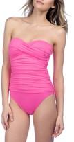 LaBlanca Women's La Blanca Twist Front Bandeau One-Piece Swimsuit