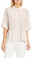 Vince Camuto Women's Oversized Stripe Shirt