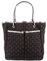 Anya Hindmarch Leather-Trimmed Mini Tote