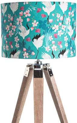 Amanda West Crane & Blossom Lampshade (40Cm)