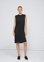 Haider Ackermann Shiny Black Sleeveless Dress